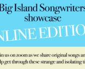 Big Island Songwriters Livestream Show Happens May 9